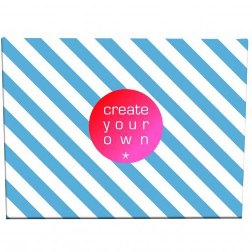 Create Your OwnCanvas - 18mm Frame - Medium - 300gsm Canvas Textile - 50cm x 30cm