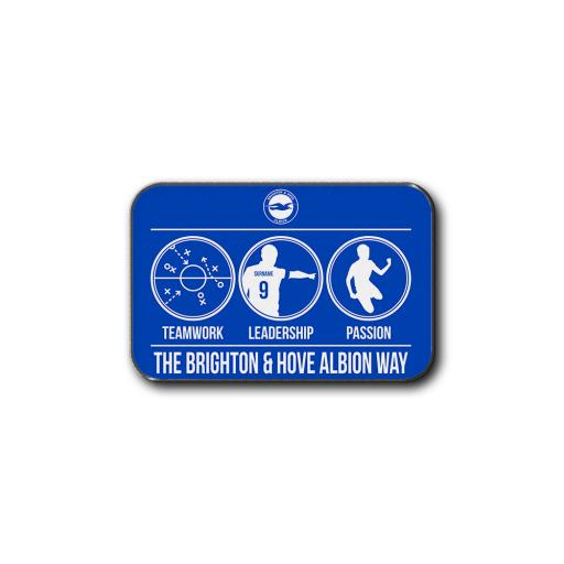 Brighton & Hove Albion FC Way Rear Car Mat