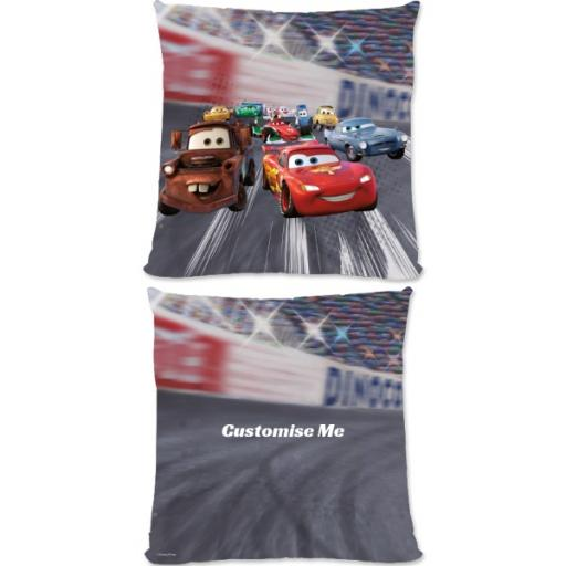 Disney Cars Lightning McQueen Large Fiber Cushion