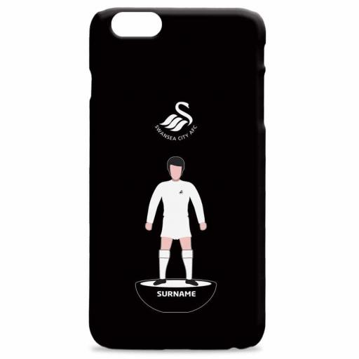 Swansea City AFC Player Figure Hard Back Phone Case