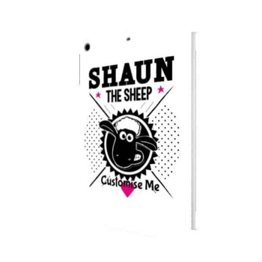 Aardman Shaun The Sheep Black & White iPad Air Clip Case