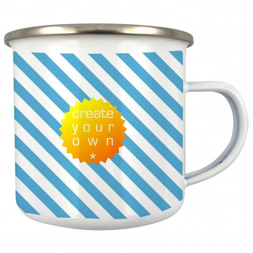 Create Your OwnMug - White - Enamel - 13oz