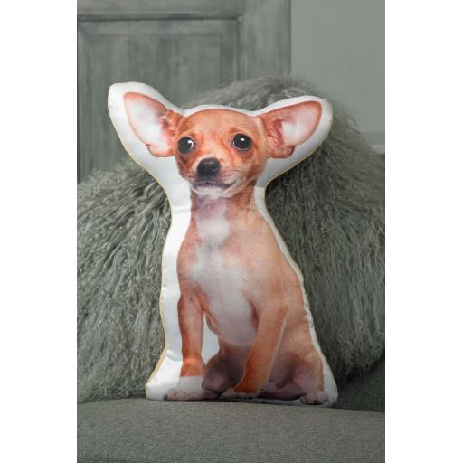 Chihuahua Shaped Cushion Perfect Gift For Dog Lovers
