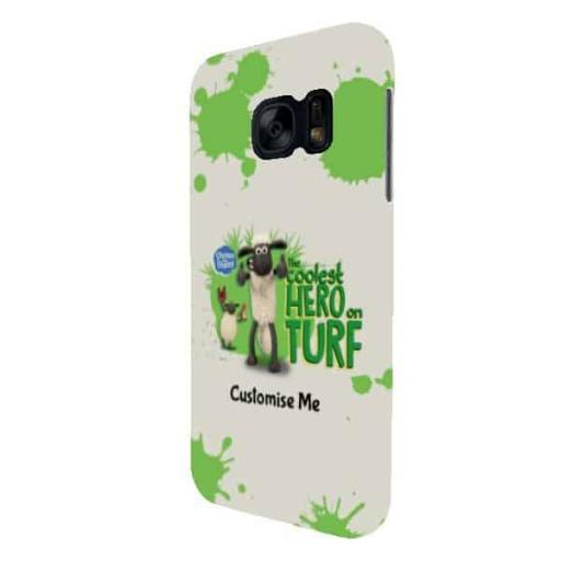 "Shaun The Sheep ""Coolest Hero On Turf"" Samsung S7 Clip Case"