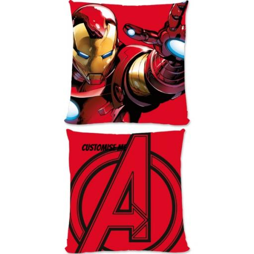 Marvel Avengers Assemble Iron Man Small Fiber Cushion