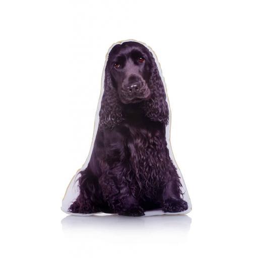 Black Cocker Spaniel Midi Cushion Perfect For Dog Lovers