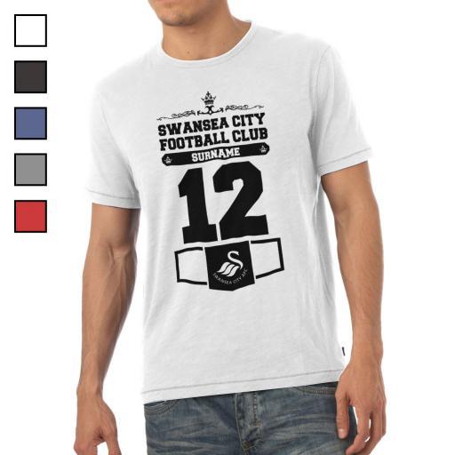 Swansea City AFC Mens Club T-Shirt