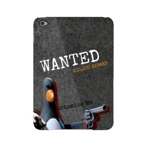 Aardman Wallace And Gromit Feathers WANTED iPad Mini 4 Clip Case