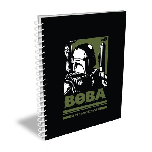 Star Wars Boba Pop Art A5 Notebook